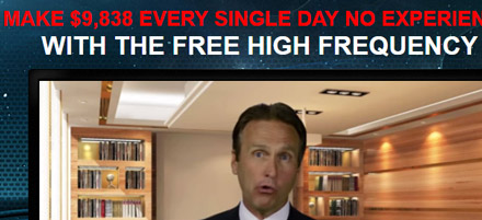 from the High Frequency Trader binary options scam website
